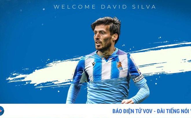 David Silva chính thức có bến đỗ mới sau khi chia tay Man City