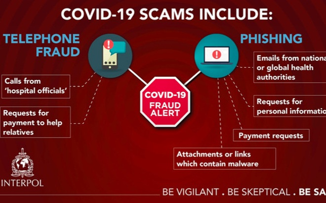 Việt - Mỹ hợp tác điều tra 3 nghi phạm lợi dụng COVID-19 lừa đảo 7.000 người Mỹ