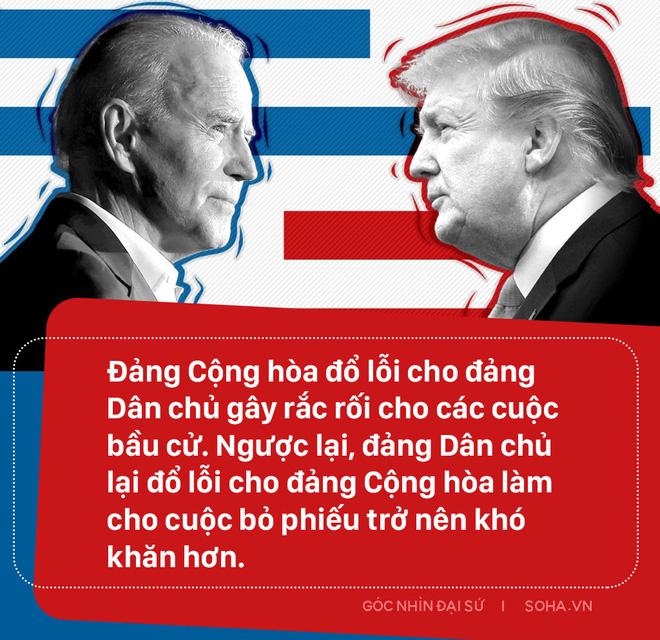 Bầu cử Mỹ: Cuộc đại chiến cam go kẻ tám lạng người nửa cân và kịch bản ông Trump không chịu rời Nhà Trắng - Ảnh 2.