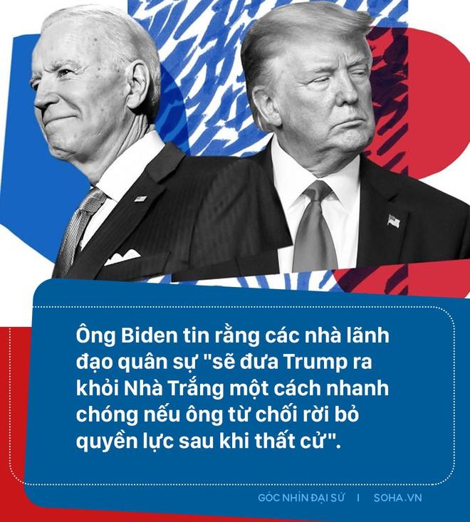 Bầu cử Mỹ: Cuộc đại chiến cam go kẻ tám lạng người nửa cân và kịch bản ông Trump không chịu rời Nhà Trắng - Ảnh 6.