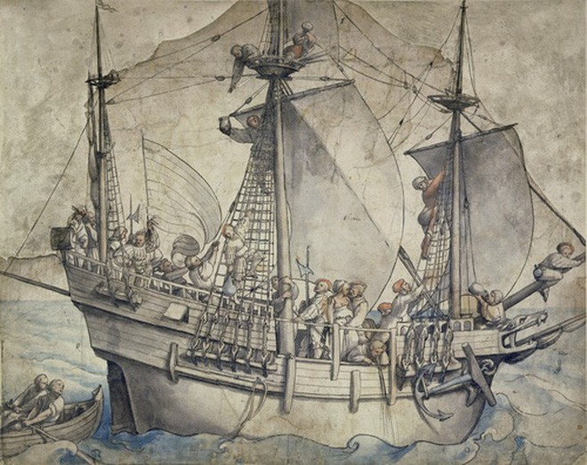 Bí ẩn thủy quái trong tàu ma hoàng gia mất tích 5 thế kỷ - Ảnh 2.