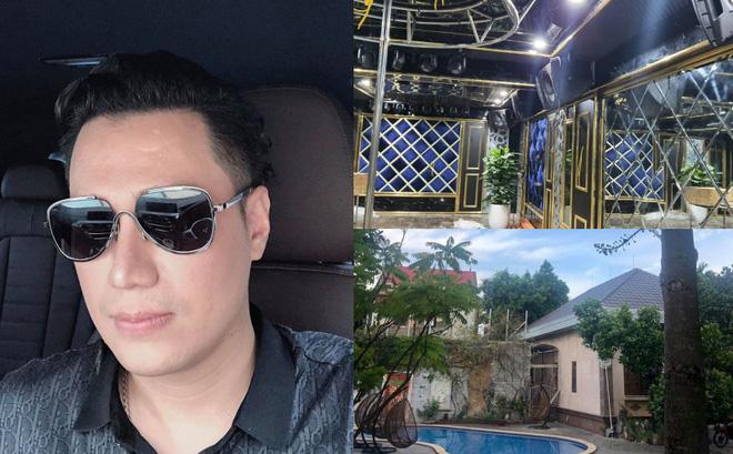 Việt Anh khoe nhà mới có cả phòng nghe nhạc và hầm rượu vang sang trọng