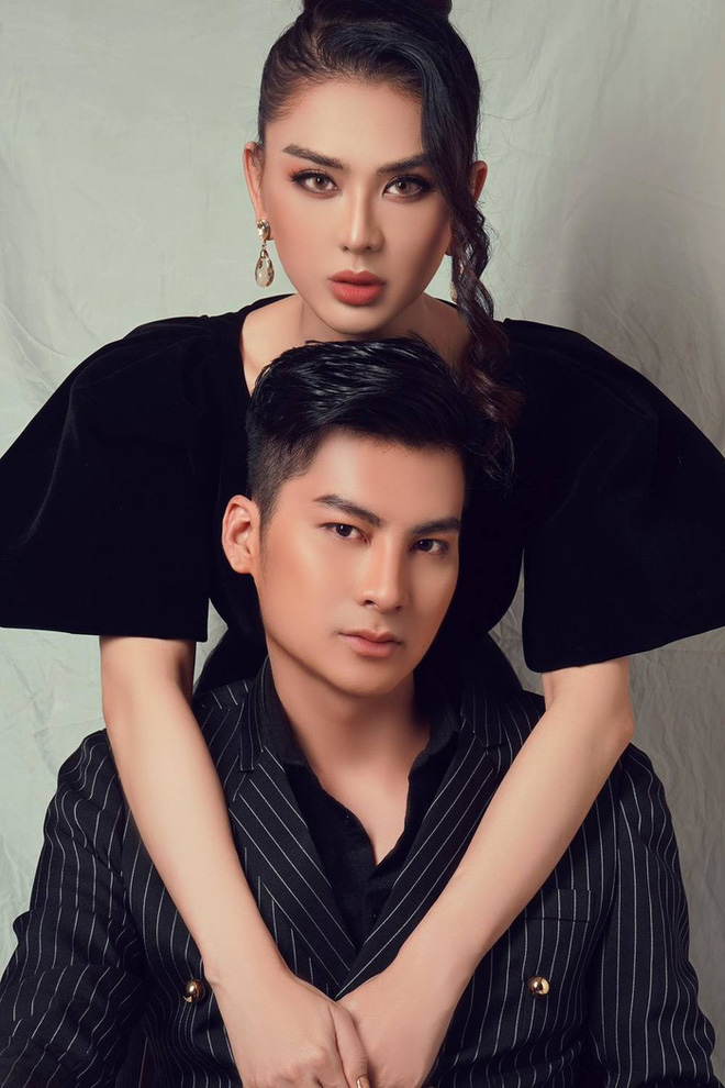 Lâm Khánh Chi và chồng kém tuổi bị đồn hợp đồng hôn nhân: Họ không tin người chuyển giới có hạnh phúc thật sự - Ảnh 2.