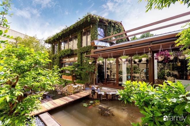 Chồng tự tay thiết kế nhà vườn kiểu Nhật tặng vợ để kỷ niệm 15 năm bên nhau với chi phí 290 triệu đồng ở Hà Nội - Ảnh 1.
