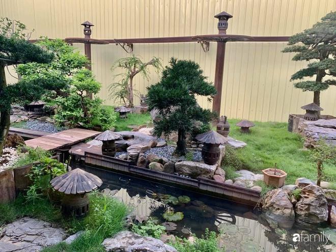 Chồng tự tay thiết kế nhà vườn kiểu Nhật tặng vợ để kỷ niệm 15 năm bên nhau với chi phí 290 triệu đồng ở Hà Nội - Ảnh 26.
