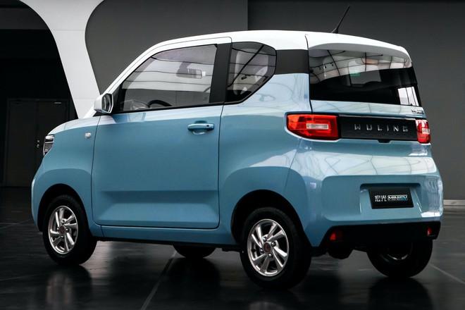 Cận cảnh ô tô điện giá 96 triệu đồng của Trung Quốc, nhái Kia Morning - Ảnh 1.