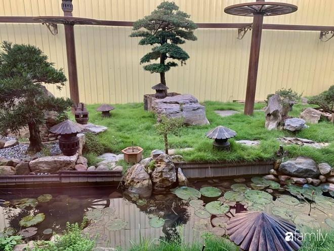 Chồng tự tay thiết kế nhà vườn kiểu Nhật tặng vợ để kỷ niệm 15 năm bên nhau với chi phí 290 triệu đồng ở Hà Nội - Ảnh 24.