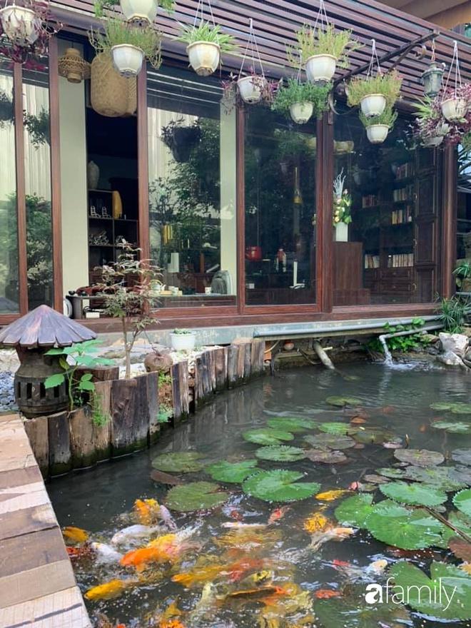 Chồng tự tay thiết kế nhà vườn kiểu Nhật tặng vợ để kỷ niệm 15 năm bên nhau với chi phí 290 triệu đồng ở Hà Nội - Ảnh 25.
