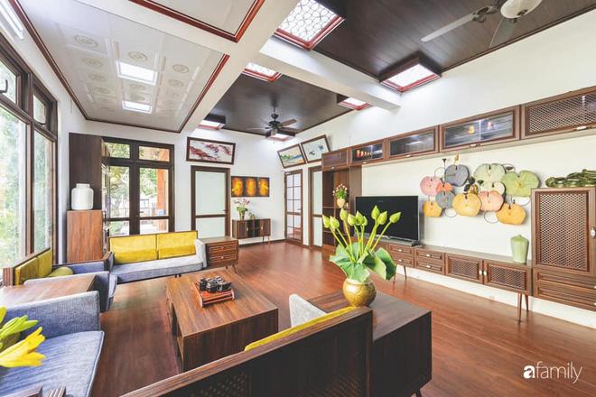 Chồng tự tay thiết kế nhà vườn kiểu Nhật tặng vợ để kỷ niệm 15 năm bên nhau với chi phí 290 triệu đồng ở Hà Nội - Ảnh 3.