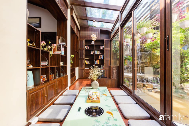Chồng tự tay thiết kế nhà vườn kiểu Nhật tặng vợ để kỷ niệm 15 năm bên nhau với chi phí 290 triệu đồng ở Hà Nội - Ảnh 16.