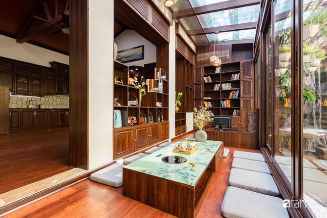 Chồng tự tay thiết kế nhà vườn kiểu Nhật tặng vợ để kỷ niệm 15 năm bên nhau với chi phí 290 triệu đồng ở Hà Nội - Ảnh 6.