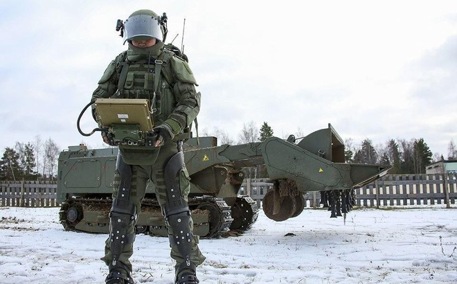 'Bộ giáp siêu nhân' của quân đội Nga không phải là chuyện viễn tưởng