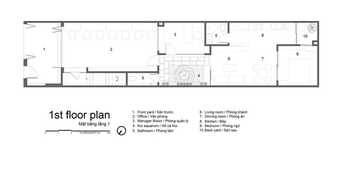 Tp.HCM: Căn nhà tạo sự ảo giác, có hồ cá Koi và vườn cây trên sân thượng - Ảnh 18.