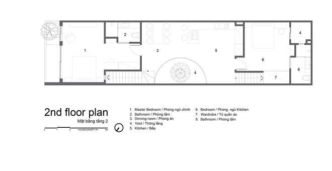 Tp.HCM: Căn nhà tạo sự ảo giác, có hồ cá Koi và vườn cây trên sân thượng - Ảnh 19.