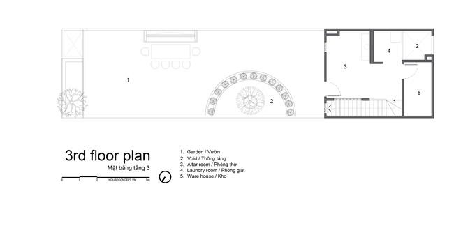 Tp.HCM: Căn nhà tạo sự ảo giác, có hồ cá Koi và vườn cây trên sân thượng - Ảnh 20.
