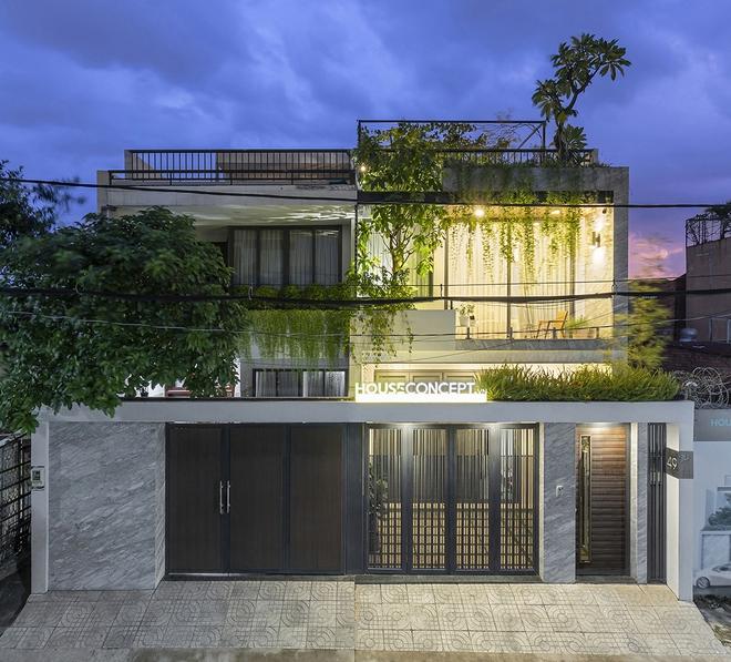 Tp.HCM: Căn nhà tạo sự ảo giác, có hồ cá Koi và vườn cây trên sân thượng - Ảnh 12.