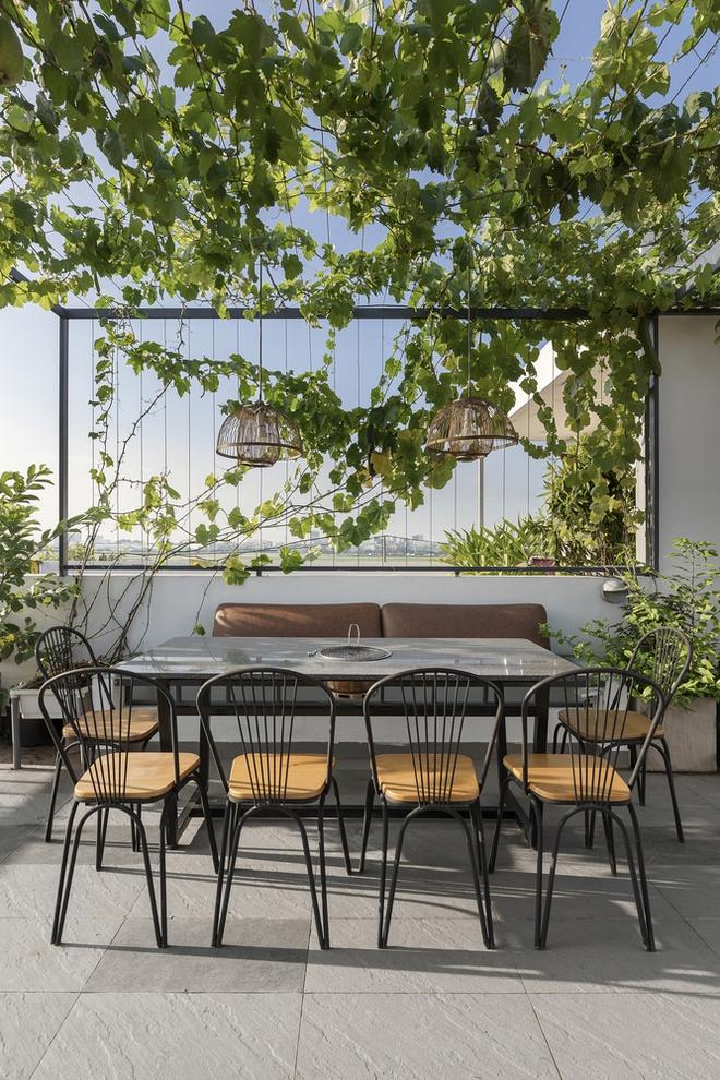 Tp.HCM: Căn nhà tạo sự ảo giác, có hồ cá Koi và vườn cây trên sân thượng - Ảnh 7.