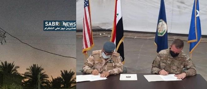 Ngậm đắng nuốt cay rút bỏ căn cứ chiến lược ở Iraq, đoàn xe Mỹ tiếp tục bị phục kích! - Ảnh 1.