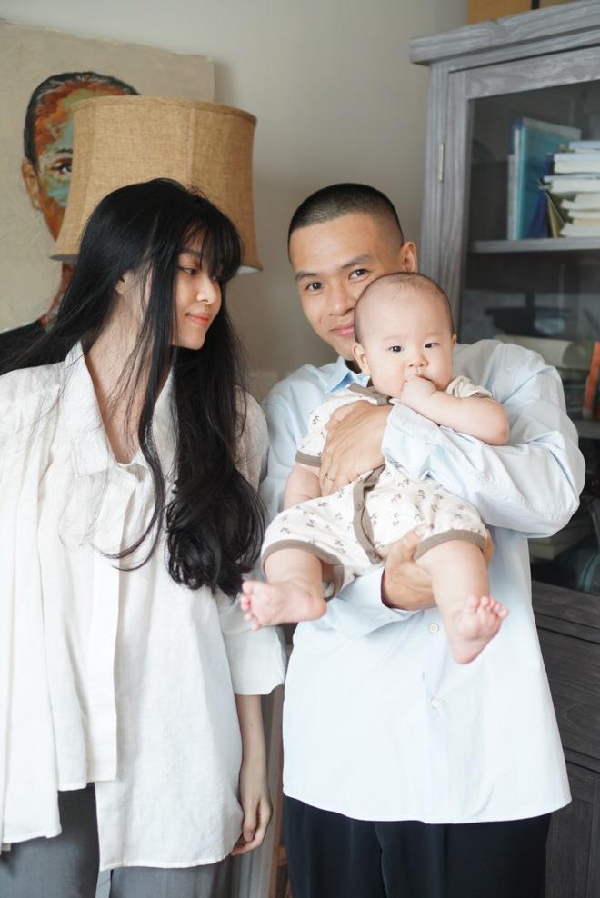 Cho con ăn chay từ trong bụng mẹ và cách nuôi dạy đặc biệt của vợ chồng ca sĩ Đức Tùng - Ảnh 4.