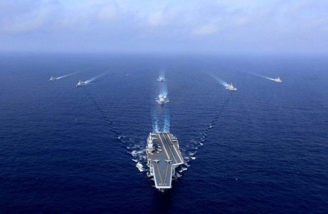 TQ lần đầu tiên tập trận hải quân quy mô trên cả 4 biển, thách thức Mỹ - Ảnh 1.