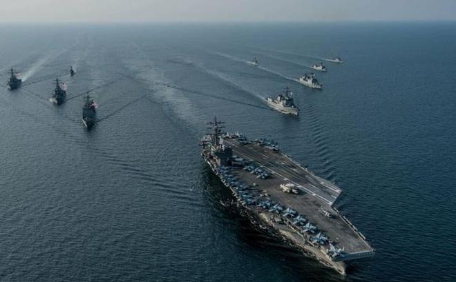 TQ lần đầu tiên tập trận hải quân quy mô trên cả 4 biển, thách thức Mỹ