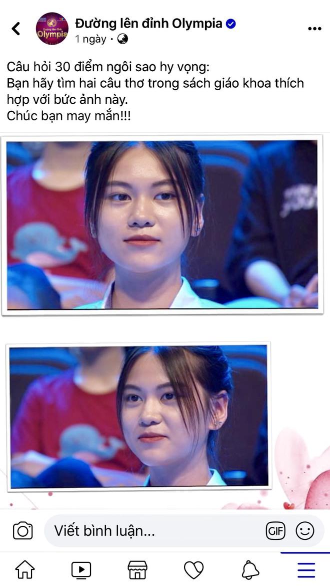 Xuất hiện vài giây trên VTV, cô gái được dân mạng liên tục thả thính bằng thơ - Ảnh 1.