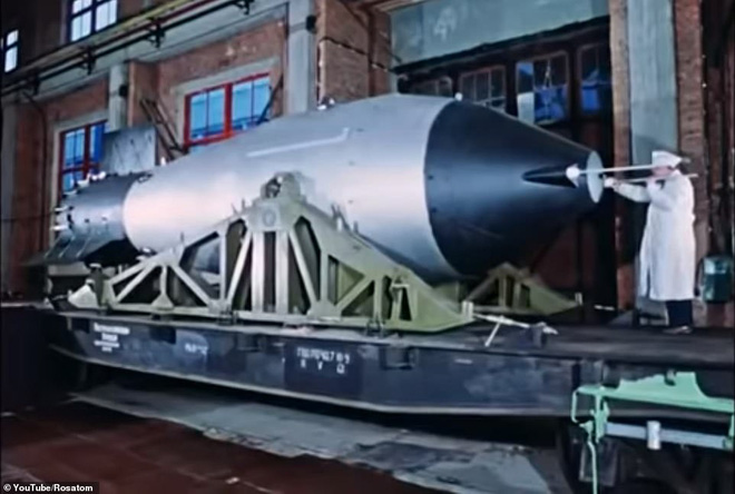 Nga lần đầu công bố thước phim hiếm hé lộ bí mật vụ thử hạt nhân lớn nhất lịch sử - Ảnh 1.