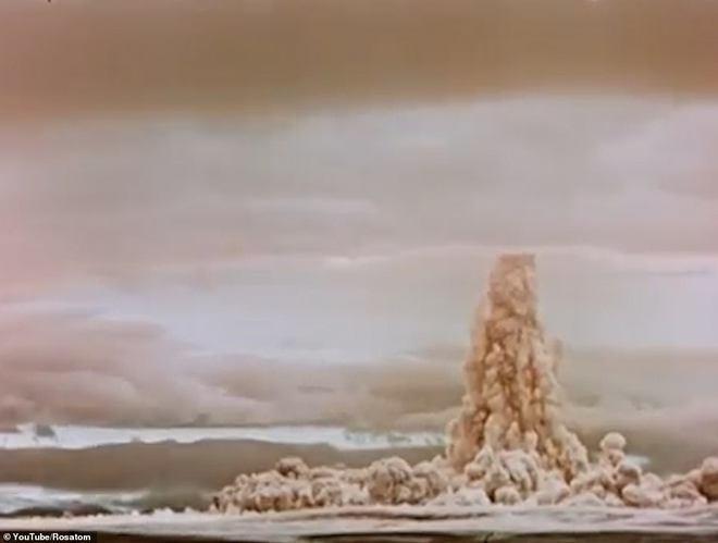 Nga lần đầu công bố thước phim hiếm hé lộ bí mật vụ thử hạt nhân lớn nhất lịch sử - Ảnh 3.