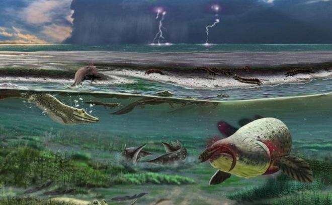 Nguyên nhân gây ra sự kiện tuyệt chủng Devon muộn