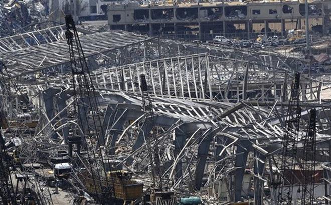 Cảng Beirut phục hồi 100% công suất sau vụ nổ kinh hoàng