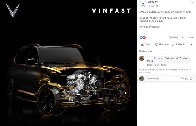 Hé lộ động cơ khủng của chiếc VinFast President - Ảnh 1.