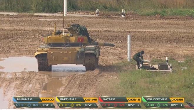 Kíp 2 xe tăng Việt Nam thi đấu Tank Biathlon 2020: Vươn tới đỉnh cao - Ảnh 1.