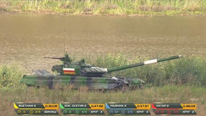 Kíp 2 xe tăng Việt Nam thi đấu Tank Biathlon 2020: Xuất sắc cán đích đầu tiên - Vươn tới đỉnh cao - Ảnh 1.