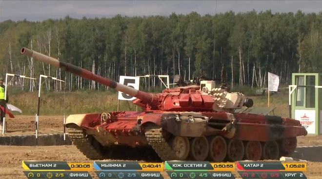 Kíp 2 xe tăng Việt Nam thi đấu Tank Biathlon 2020: Xuất sắc cán đích đầu tiên - Vươn tới đỉnh cao - Ảnh 3.