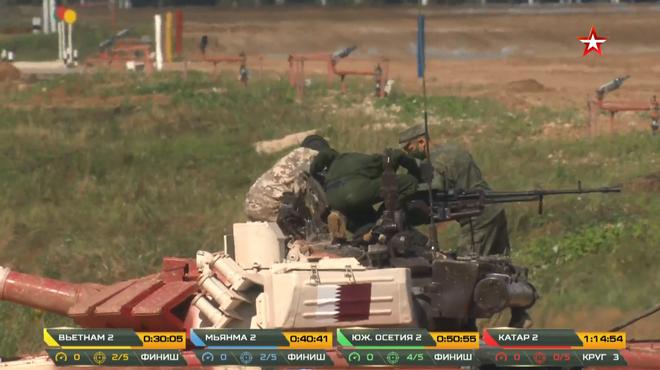 Kíp 2 xe tăng Việt Nam thi đấu Tank Biathlon 2020: Xuất sắc cán đích đầu tiên - Vươn tới đỉnh cao - Ảnh 2.
