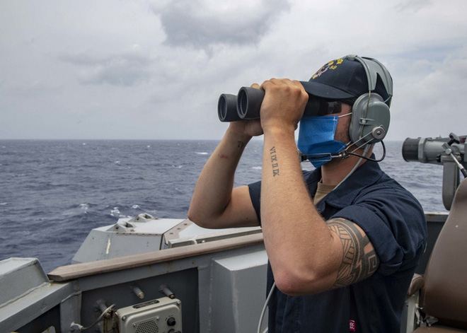 Trung Quốc vừa phóng tên lửa, tàu khu trục Mỹ tiến gần Hoàng Sa - Ảnh 4.