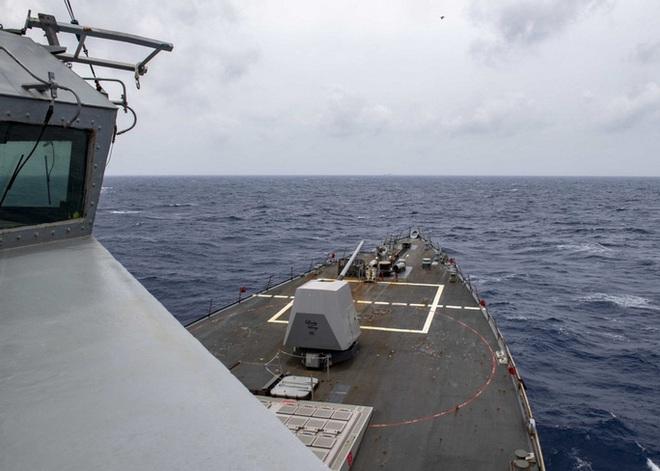 Trung Quốc vừa phóng tên lửa, tàu khu trục Mỹ tiến gần Hoàng Sa - Ảnh 5.