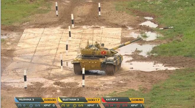 Kíp 3 Đội xe tăng Việt Nam thi đấu Tank Biathlon 2020: Thần tốc, dũng mãnh - Lật đổ ngoạn mục - Ảnh 3.