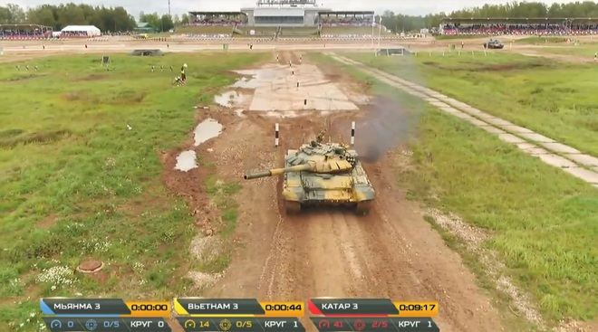 Kíp 3 Đội xe tăng Việt Nam thi đấu Tank Biathlon 2020: Thần tốc, dũng mãnh - Lật đổ ngoạn mục - Ảnh 4.