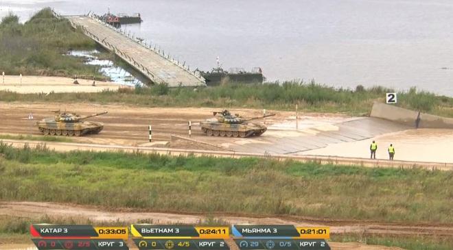 Kíp 3 Đội xe tăng Việt Nam thi đấu Tank Biathlon 2020: Thần tốc, dũng mãnh - Lật đổ ngoạn mục vào thẳng bán kết - Ảnh 1.