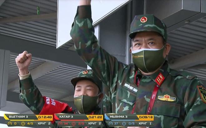 Đại tá Nguyễn Khắc Nguyệt: Vượt qua sự cố, kíp Việt Nam 3 thi đấu cực hay tại Tank Biathlon 2020