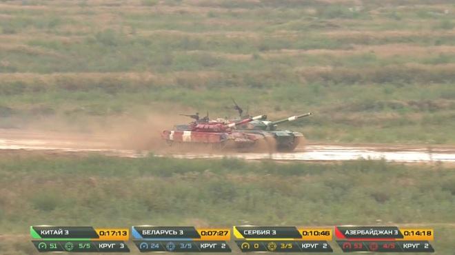 Tank Biathlon 2020: Xe tăng Trung Quốc và Azerbaijan va vào nhau trên đường đua - Những tình huống nghẹt thở - Ảnh 3.