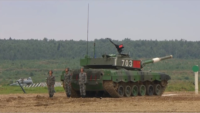 Tank Biathlon 2020: Xe tăng Trung Quốc và Azerbaijan va vào nhau trên đường đua - Những tình huống nghẹt thở - Ảnh 2.