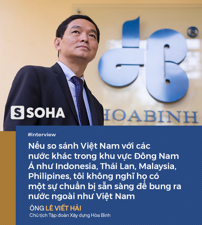 Cuộc truyền ngôi và niềm tin của Chủ tịch Tập đoàn Xây dựng Hòa Bình: Nhà thầu Việt Nam sẽ thay thế Trung Quốc! - Ảnh 2.