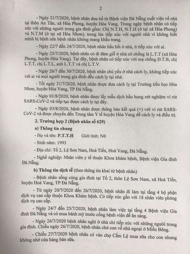 15 ca Covid-19 mới ở Đà Nẵng: tiếp xúc nhiều người tại đám giỗ, đám cưới - Ảnh 2.