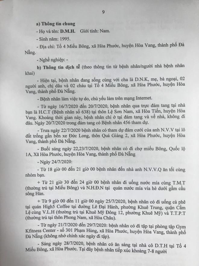 15 ca Covid-19 mới ở Đà Nẵng: tiếp xúc nhiều người tại đám giỗ, đám cưới - Ảnh 9.