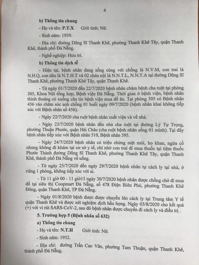 15 ca Covid-19 mới ở Đà Nẵng: tiếp xúc nhiều người tại đám giỗ, đám cưới - Ảnh 4.