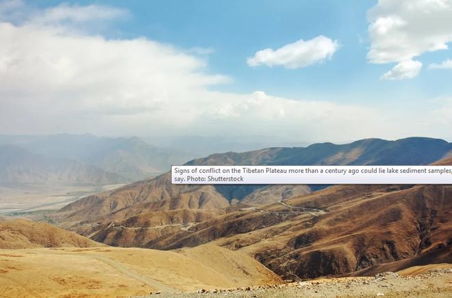 Khảo sát địa chất, phát hiện những bóng ma rùng mình ở hồ sông băng Tây Tạng - Ảnh 1.