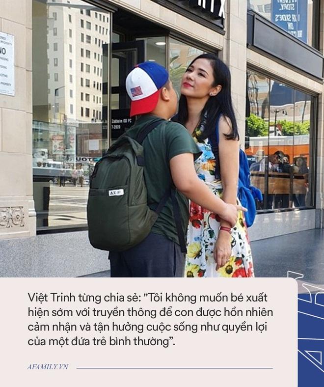 Cậu con trai bí ẩn của Việt Trinh: Mới 11 tuổi đã cao lớn phổng phao, không biết mẹ là người nổi tiếng đến khi chứng kiến điều này - Ảnh 2.