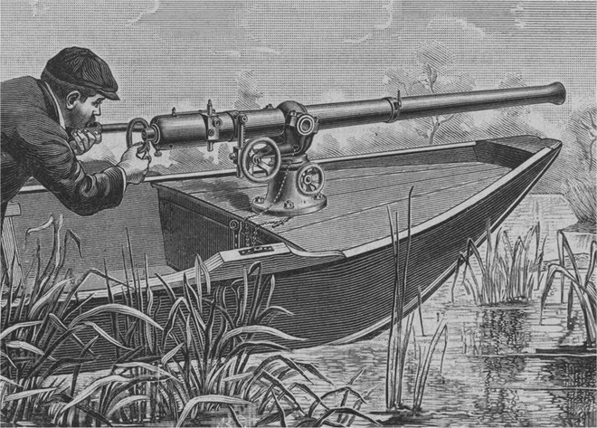 Những khẩu súng phá vỡ mọi tiêu chuẩn trên thế giới - Ảnh 1.